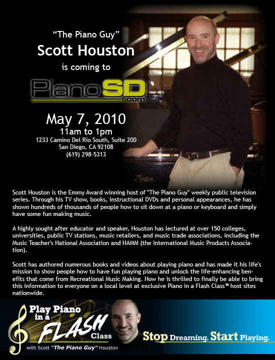 Scott Houston Will Be Here With Us On FRIDAY!