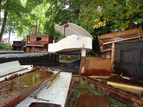 Piano Graveyard
